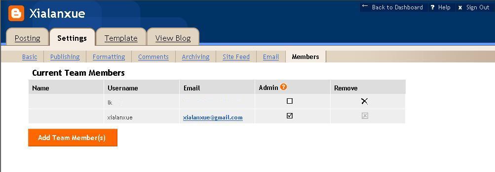 Blogger Bug