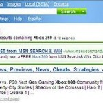 Search with MSN and Win Prizes