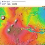 Mars Map on Google