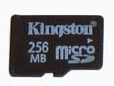 Kingston's 256MB MicroSD Card Review by Legit Reviews