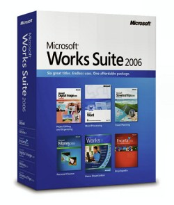Microsoft Works Suite 2006