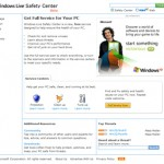 Protects and Check PC for Vulnerabilities with Windows Live Safety Center