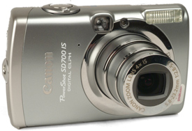 Canon PowerShot SD700 IS Digital ELPH