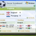 Microsoft Soccer (Football) Scoreboard for World Cup Football Fans