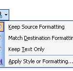 Remove Microsoft Word Manual Formatting or Copied Formatting from External Source