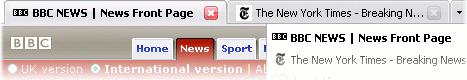 New Firefox 2 Tabs