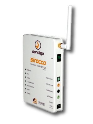 Sondigo Sirocco Wireless Audio Bridge