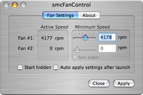Modify, Adjust and Control Fan Speed (and Temperature) of