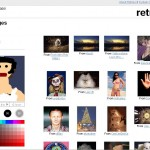Search Online Photos and Images from Flickr by Drawing and Sketching with Retrievr