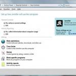 Parental Controls in Windows Vista