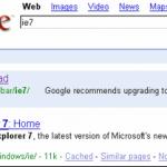 Free Download Internet Explorer 7 (IE7) Optimized for Google