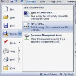 How to Use Save As PDF Plugin to Make and Create or Convert to PDF Documents in Office 2007 for Free