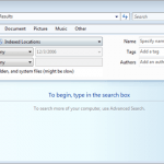Ways to Search for Files and Documents in Windows Vista