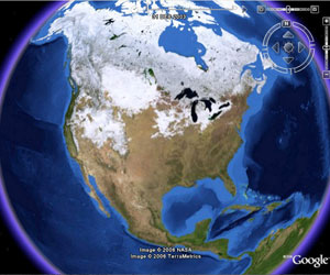 View Google Earth In Web Browser Plus Easy Switching With - Google world map satellite free