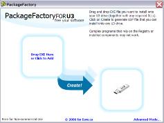 PackageFactory for U3