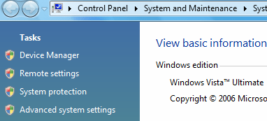 Access Remote Settings in Windows