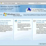 Windows Vista Anytime Upgrade – How to Upgrade Edition Guide and Price