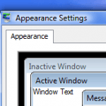 Increase or Decrease Windows 7 or Vista Aero Glass Windows Border Padding