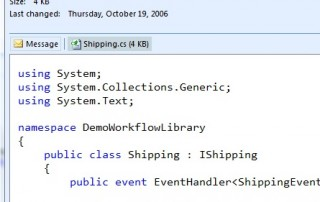 Preview .cs Source Code in Outlook