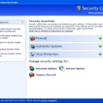 Disable or Turn Off Windows XP Security Center Permanently