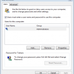 Login / Logon to Windows Automatically Without Entering Password