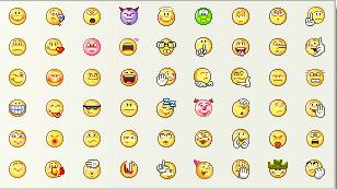 Yahoo! Messenger Emoticons