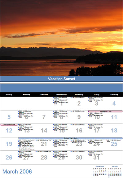 Calendar Printing Assistant for Outlook 2007