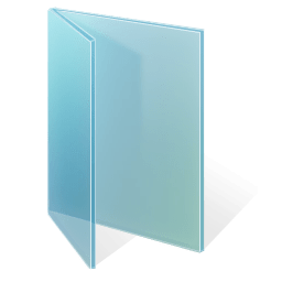 Adjusted Glass Folder Vista