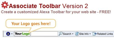 Custom Alexa Associate Toolbar
