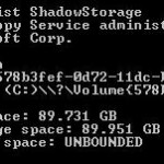 Windows Vista Hard Disk Space Shrinking and Reducing Anomaly