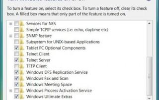 Install Telnet Server