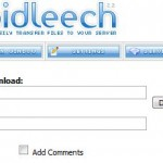 Free RapidLeech Download Servers