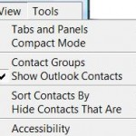 Remove Skype Extra Contacts from Microsoft Outlook