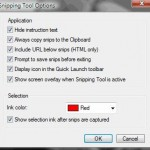 Remove & Clear Selection Ink Border on Snipping Tool Captured Images / Pictures