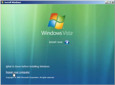 how to solve bootmgr is missing in windows 7