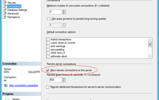 Allow Remote Connection in SQL Server