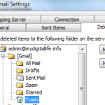 How to Delete Emails from Gmail IMAP Access Mail Client