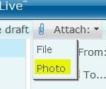 How to Send Full Size Photos or Pictures with Windows Live (MSN) Hotmail