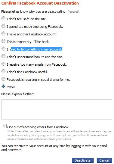 how to see deactivated facebook profiles
