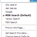 Export, Backup or Copy Out the IE Search Providers List