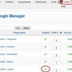 How to Enable Legacy Mode in Joomla! 1.5