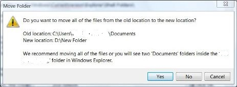 Move My Documents Files