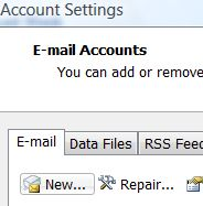 New Email Account