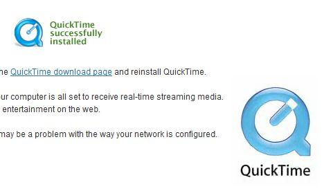 Test QuickTime