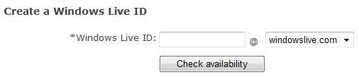 Register windowslive.com