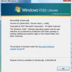 Guide to Upgrade or Install Windows Vista SP1 RC 1 Build 6001.17052 (v.668) Online