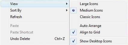 How to Resize and Change Windows Desktop Icons Size - Tech
