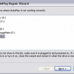 Autoplay Repair Wizard Free Download