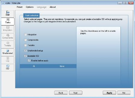 Create Bootable ISO Image for x64 Windows Vista