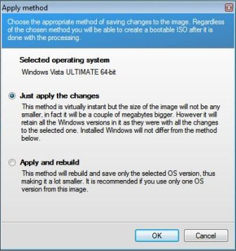 Create Bootable ISO Image for x64 Windows Vista